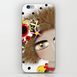 I can not take my eyes out of you iPhone Skin