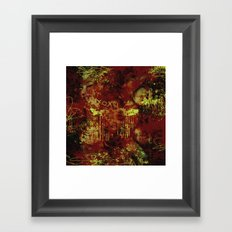 Bury Your False Idols Framed Art Print