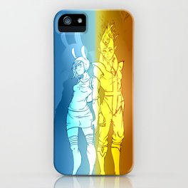 Fiona & Flame Prince iPhone Case