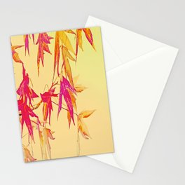 Autumn magic leaves Stationery Cards