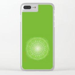 ANAHATA Boho mandala Clear iPhone Case