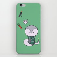 slytherin iPhone & iPod Skins featuring Slytherin by Kiell R.