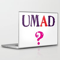 mad Laptop & iPad Skins featuring mad? by snorkdesign