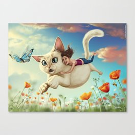 Catsy Canvas Print