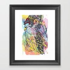 Godly Gander Framed Art Print