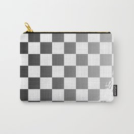 Chequered Flag Grunge Carry-All Pouch