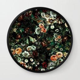 Night Garden VI Wall Clock