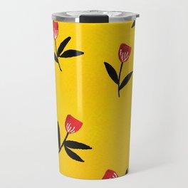 Flower Dance Travel Mug