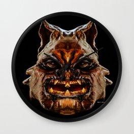 Halloween Mask 01218 Wall Clock
