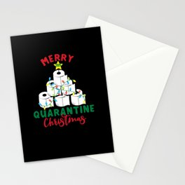 quarantine 2020 christmas Stationery Cards