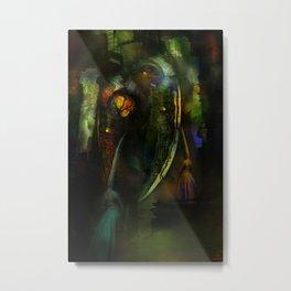 Sacrifices for Cyber Cyclops Metal Print
