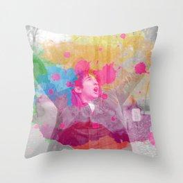 Inktober 2018 (Day 9) Throw Pillow