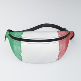 İTALY FLAG for tote bags and more! İllustration and painting design! Fanny Pack