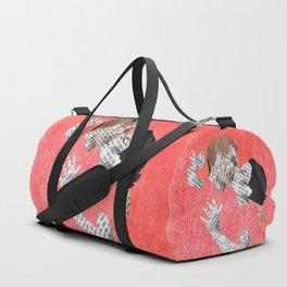 Newspaper LOVE Duffle Bag