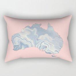 Australia map Rectangular Pillow