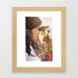 The Legend of Korra Framed Art Print