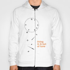 living in & out of tune Hoody