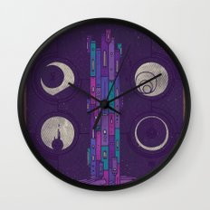 'Neath the Tower of Incomprehensible Sorcery Wall Clock