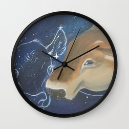 And Still I Dream Wall Clock