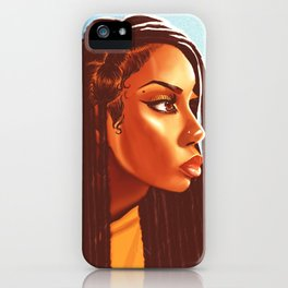 Lovely Locs iPhone Case