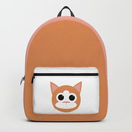 Orange Cat Backpack