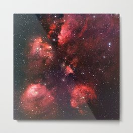 The Cat's Paw Nebula Metal Print