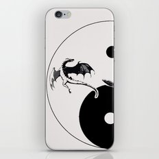 The MAGICIAN and the DRAGON - LIFE CURRENT series... iPhone & iPod Skin