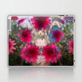 flowers abstract Laptop & iPad Skin