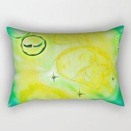 Stenzeichen - Stier Rectangular Pillow