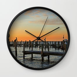 Surrender to Fate Wall Clock