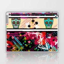 Tattoo Graffiti Sugar Skull Massacre Laptop & iPad Skin