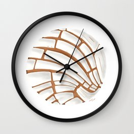 Pan Dulce Wall Clock