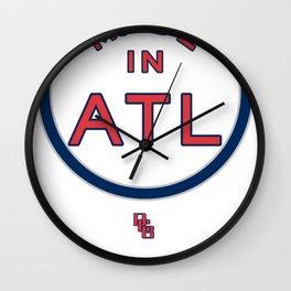 Made in Atlanta - ATL HAWKS Wall Clock
