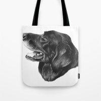best friend Tote Bags featuring Best Friend by Moose Art