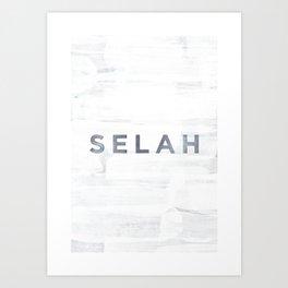 Selah Art Print