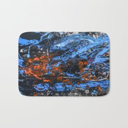 Stacked Odds Bath Mat