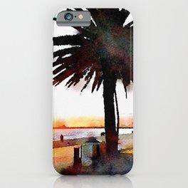 St Kilda Sunset iPhone Case