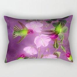 Hummingbird 1 Rectangular Pillow