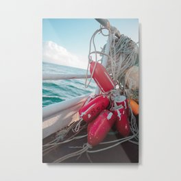 Buoys  Metal Print