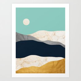 Modern Landscape XIV Art Print