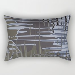 Jagged. Rectangular Pillow