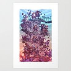 The Quest of Erebor Art Print