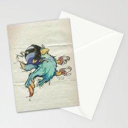 volatile intergalactique Stationery Cards