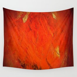 Rustic Orange Home Decor - Comforters - Tapestry - Pillows - Rugs - Shower Curtains Wall Tapestry