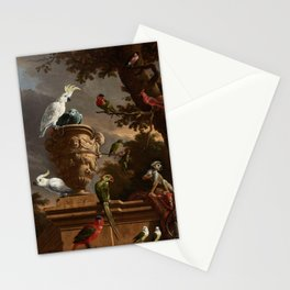 The Menagerie, Melchior d'Hondecoeter, c. 1690 Stationery Cards