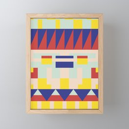 Abstract Pattern No. 1 Framed Mini Art Print