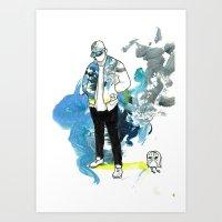 Weathered - Jack Garratt Art Print