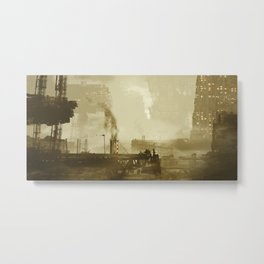 Industrious City Living... - Chris Little Metal Print