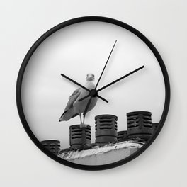 Who are you looking at Wall Clock