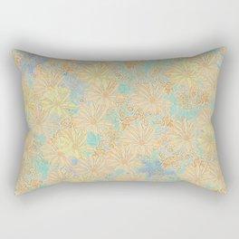 Antique Floral Good Old Days (plain) Rectangular Pillow